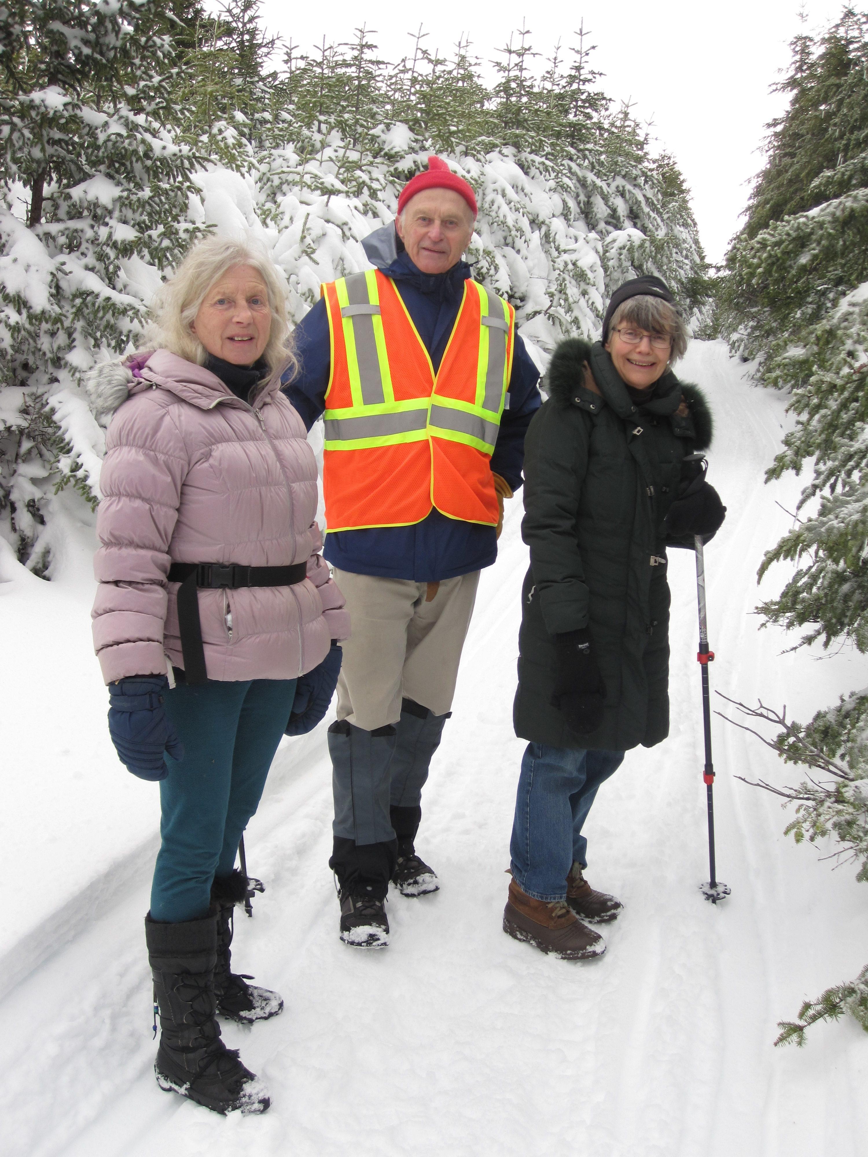 Trip report – snowshoeing in a winter wonderland