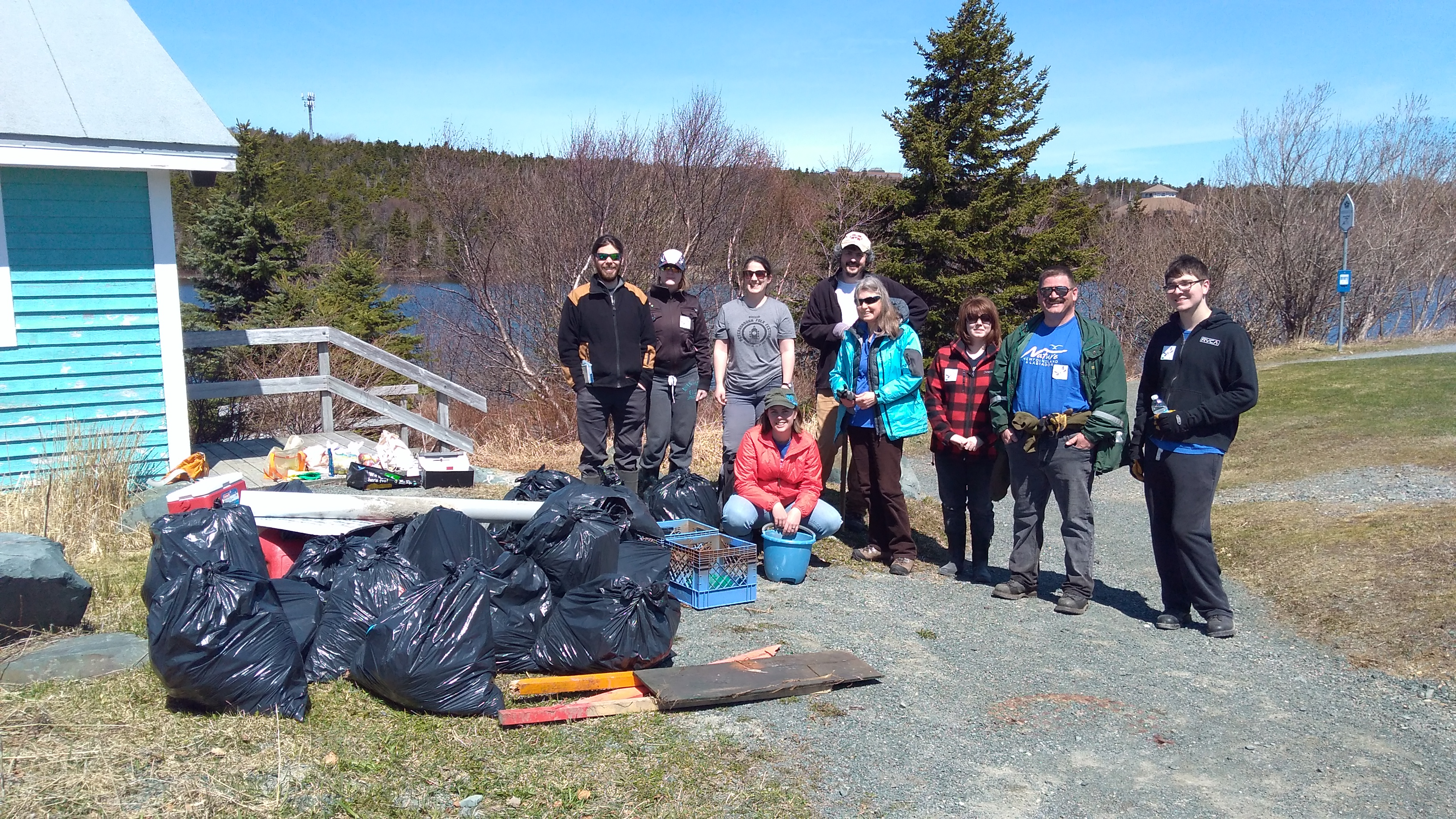 Trip Report – Annual Long Pond Clean Up