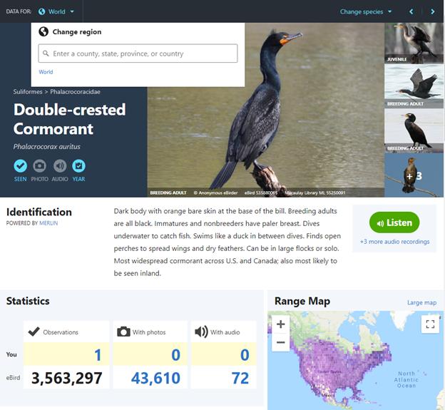Discover Birding Hotspots