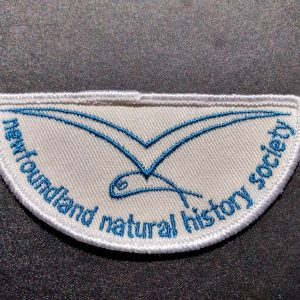 Retro patch (white and blue)